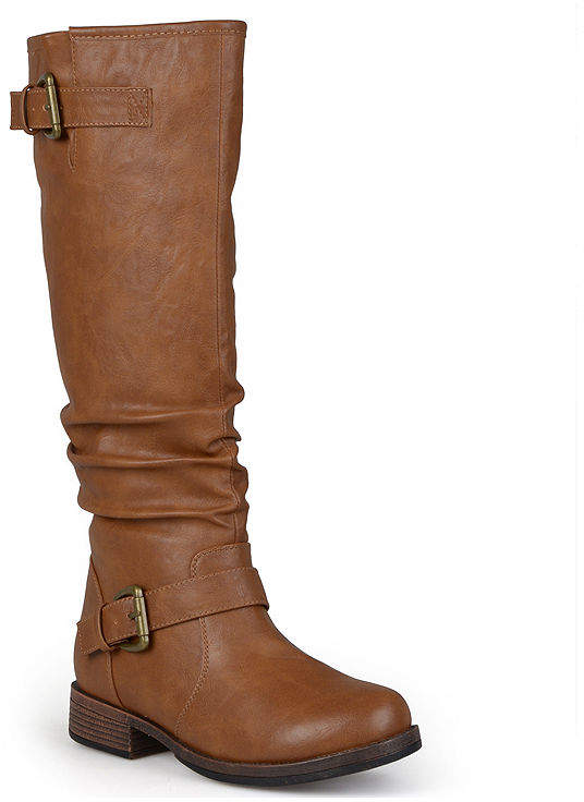 Journee Collection Stormy Wide Calf Riding Boots