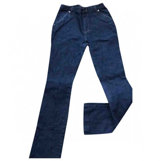 Vanessa Seward Blue Cotton Jeans for Women