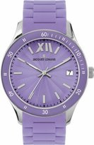 Jacques Lemans Women's 1-1623H Rome Sports Sport Analog with Silicone Strap Watch