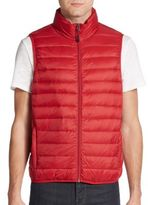 Saks Fifth Avenue Packable Nylon Puffer Vest