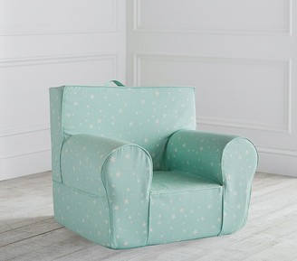 Pottery Barn Kids Aqua Scattered Stars Glow-in-the-Dark Anywhere Chair