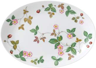 Wedgwood Wild Strawberry Oval Coupe Plate (30cm)