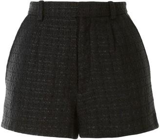 IRO Check Print Shorts