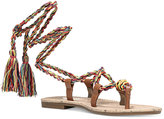 Circus by Sam Edelman Beth Tie-Up Flat Sandals
