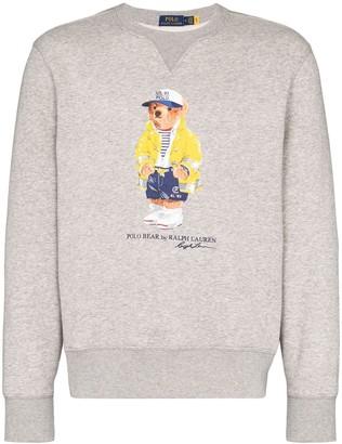 Polo Ralph Lauren Teddy Bear logo print sweatshirt