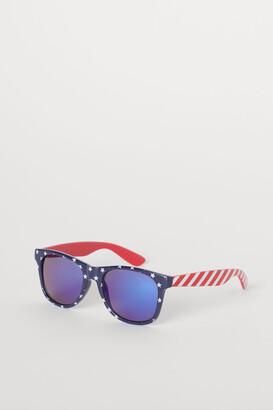 H&M Patterned Sunglasses - Blue