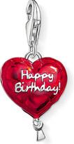 Thomas Sabo Charm club silver and enamel happy birthday charm
