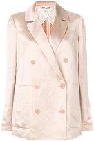 Dvf Diane Von Furstenberg double-breasted fitted blazer