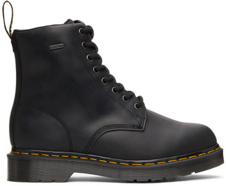 Dr. Martens Black 1460 Waterproof Lace-Up Boots