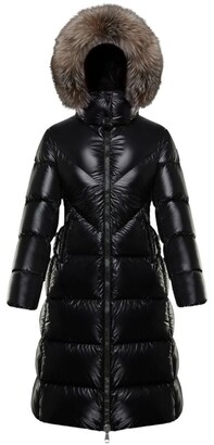 Moncler Ribafur Hooded Down Coat