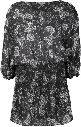 Ulla Johnson Grey Cotton Dresses