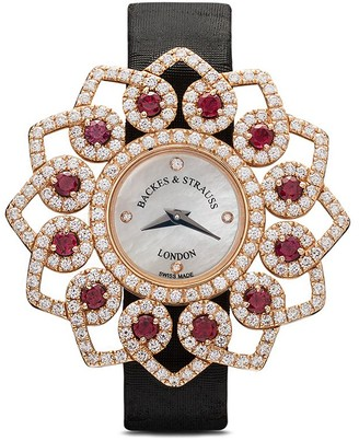 Strauss Backes & Victoria Brilliant Red Rose 36mm