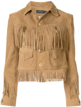 Polo Ralph Lauren fringed jacket