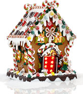 "Kurt Adler 8"" Pre-Lit Christmas Gingerbread House"