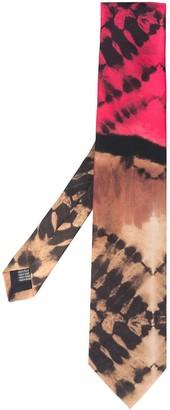Paura Tie Dye Silk Tie