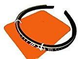Missoni for Target Black & White Zig Zag & Solid Black Headband 2 Pc Set 38463