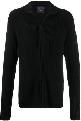 Yohji Yamamoto Ribbed Knit Cardigan