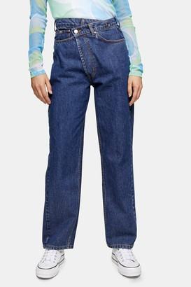 Topshop Asymmetric Boy Jeans