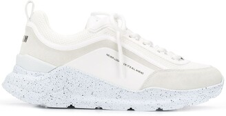 MSGM Never Look Back low-top sneakers