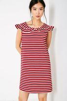 Jack Wills Cate Stripe Frill Collar Dress
