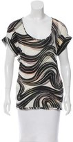 Missoni Wool Abstract Print Top w/ Tags