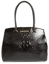 Brahmin Melbourne Alice Leather Tote - Black