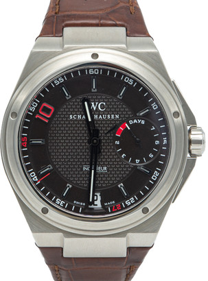 IWC Big Ingenieur 7 Day Zinedine Zidane Edition 500 Pieces Stainless Steel Men's Watch 45.5MM