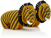 Fiona Walker England Tiger Bookends-ORANGE, YELLOW