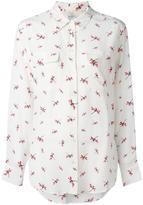 Equipment dragonfly print shirt - women - Silk - S
