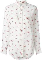 Equipment dragonfly print shirt