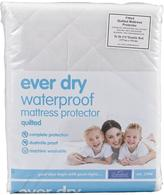 Downland Ever-Dry Waterproof Quilted Mattress Protector - 30cm Depth