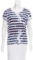 Sandro Striped Short Sleeve T-Shirt