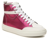 Modern Vintage Gials Metallic Leather High-Top Sneaker