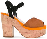 Prada panel platform sandals