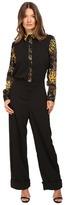 Versace Long Sleeve Jumpsuit Women's Dress