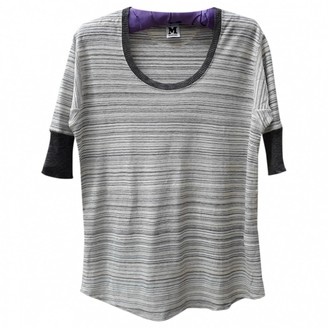 M Missoni Beige Linen Top for Women