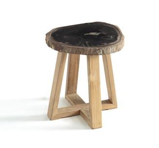 Am.pm. Apiti Petrified Wood Side Table