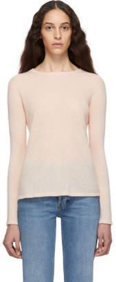 Max Mara Pink Cashmere and Silk Zeno Sweater