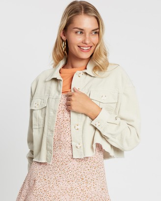 Cotton On Button Cord Shacket