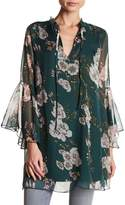 Luma Floral Woven Patterned Tunic