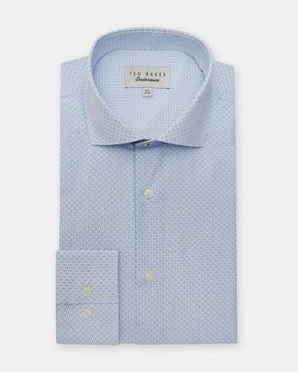 Ted Baker Micro Print Cotton Shirt