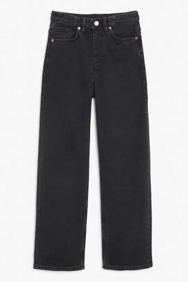 Monki Zami black jeans