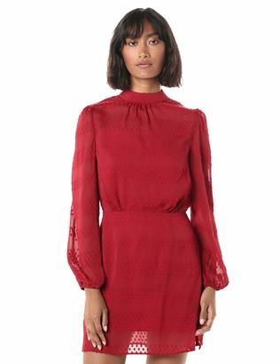 The Fifth Label Women's Voltage Blouson Long Sleeve Illusion Mini Dress