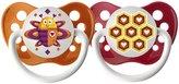 Ulubulu Pacifiers - Mute Button & Alarm - 6 - 18 Months - 2 ct