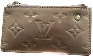 Louis Vuitton Beige Leather Purses, wallets & cases