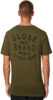 Globe Brand Mens Tee Green