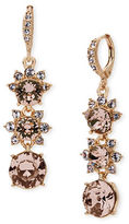 Givenchy Rose Goldplated Linear Drop Earrings