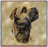 Dickens & Smyth Border Terrier Lap Sq 1139-LS by pure country