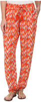 Lucky Brand Printed Soft Pants