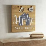 Pier 1 Imports Home Sweet Home Wall Photo Clip Holder